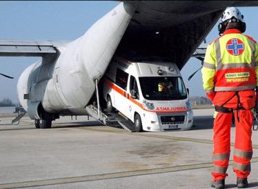 Ambulanza Trasporto in Ambulanza AeroAmbulanza