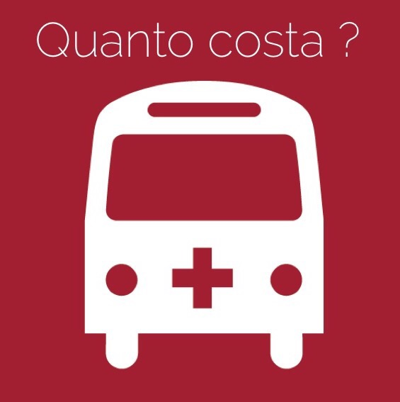 Quanto costa un trasporto in ambulanza for Quanto costa rivestire un divano